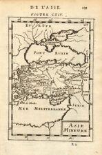 ASIA MINOR. 'Asie Mineure'. Turkey. Ancient Anatolia. Black Sea. MALLET 1683 map