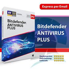 Bitdefender Antivirus Plus 2020 1, 3, 5, 10 PC / 1, 2, 3 Jahre, Aktivierungscode