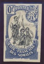 Somali Coast (Djibouti) Stamp 1902 Proof/Essay/Label, Unused No Gum