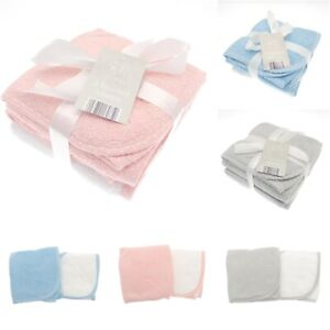 Elli & Raff 2 Pack Newborn Baby Girl Boy Unisex 100% Cotton Hooded Bath Towels