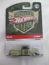 Hot Wheels 2008 Military Rods 8/26 La Troca Mint In Card