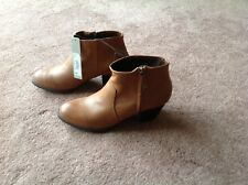 Brand New Red Herring Tan Boots Size 7