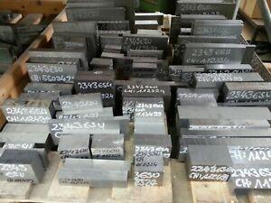 Werkzeugstahl in 1.2343 ESU SONDERVERKAUF !!! 12,5 kg Stahlreste  X38CrMoV 5 1