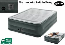 Queen Size Air Mattress Airbed Comfort Plush Inflatable Bed Durabeam CampingGear