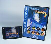 VIRTUA FIGHTER 2 für Sega Mega Drive MD Spiel Modul mit OVP ohne Anleitung