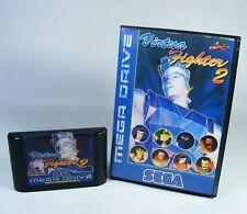 Virtua Fighter 2 para Sega Mega Drive MD módulo de juego con embalaje original sin instrucciones