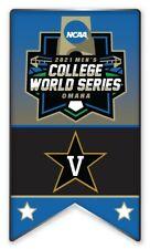 2021 NCAA College World Série Broche Vanderbilt Look Pour The Cws Program En