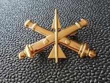 "Military Insignia  -  Army Air Defense Artillery ""ADA""  -   with clutch pins"