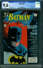 """Batman #426 CGC 9.6 WH (""""Death in The Family Part 1"""")"""