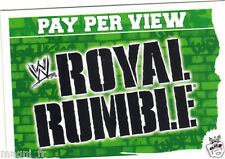 Slam Attax - Pay per view - Royal rumble   (A3800)