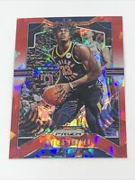 2019-20 Panini Prizm Red Ice Myles Turner #216 Indiana Pacers
