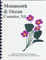 NJ MONMOUTH/OCEAN County FREEHOLD New Jersey MIDDLETOWN~RP Howe/Barber History