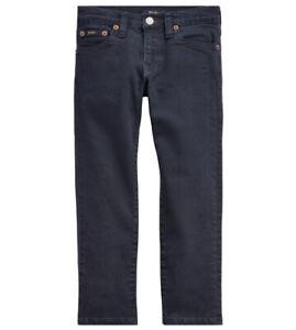 NWT New Ralph Lauren Polo Boys Sullivan Slim Stretch Jeans School Size 14 $49.50