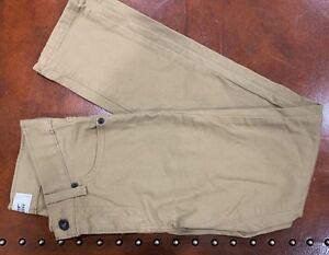 Levi Strauss Boys 510 Skinny Khaki Jeans 10r 25x25