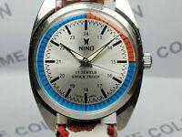 Vintage Nino Mechanical Handwinding Movement Mens Analog Dial Wrist Watch VG559