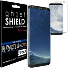 Pack Of 2 TECHGEAR Samsung Galaxy S8 ghostSHIELD TPU Screen Protector Covers New