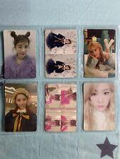 SNSD Girls' Generation TTS Dear Santa Official Photocard Full Set Of 6