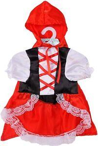 Red Riding Hood Dog Costume - XS - Dress & Hooded Cape - Rubie's - NWT