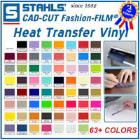 "Stahls Fashion Film Heat Transfer Vinyl 15"" x 12"" for T-Shirt Cameo Cricut HTV"