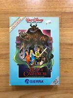 🔥 RARE Disney Black Cauldron Sierra Vintage Big Box IBM PC Game MS-DOS 🔥🔥