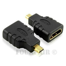 Micro HDMI Male to HDMI Female Adapter Converter 4K GoPro Hero Black 3 4 5 6 7 8