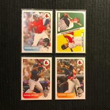 2019 TOPPS REFLECTION BOSTON RED SOX MASTER TEAM SET 4 CARDS  MOOKIE BETTS +