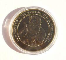 USA Santa Claus & Snowman - 1 Oz Holiday Season Limited Edition Bronze Coin UNC