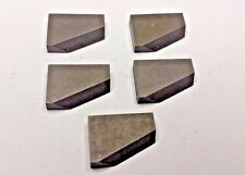 Lot of 5 MCBT-4LA Left Hand Carbide Insert Chip Breakers New Old Stock