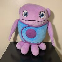 "HOME Dreamworks Movie Purple Oh Boov 19"" Plush Stuffed Toy Doll Rare"