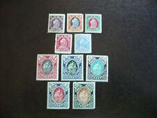 Stamps - Danzig - Scott# 49-58