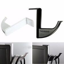 Universal Headphone Headset Earphone Holder Hanger Wall PC Monitor Stand