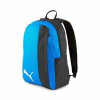 Puma Sport TeamGOAL 23 Casual Travel Backpack Rucksack Unisex Black Blue