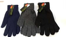 Magic Thermal Gloves with Wool Ladies Men Knitted Warm Winter Thick Unisex Uk