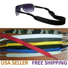 Sunglasses Eyeglasses Glasses Spectacle Sports Safety Holder black blue strap US