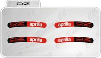 Set Adesivi per Cerchi oz- racing curvo Aprilia be a race rsv4 tuono factory
