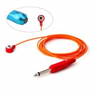 Tattoo Clip Cords Premium Silicone Soft Wire Magnetic Connector Cord 6.5Ft (1.8)