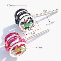 Decut Rainbow Archery Compound Bow Scope Sight Pin 0.5 Optical Fiber 4x Lens