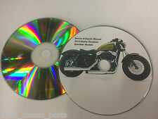 2013 Harley Davidson XL 883 Iron 48 Sportster Service Repair Workshop Manual CD