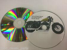 2013 Harley Davidson XL 883 Iron 48 Sportster Service Repair Workshop Manual CD