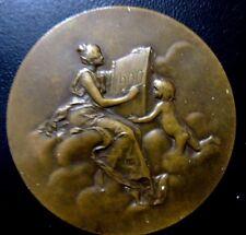 FRENCH / MONNAIE DE PARIS 1900 / 50 mm, edge bronze / BRONZE MEDAL / N134