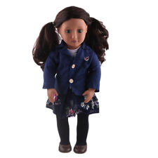 2017 cute gift 1set clothes set for 18inch American girl doll party N385