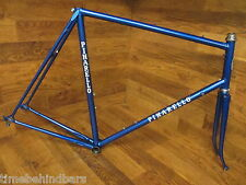 VINTAGE PINARELLO ITALIAN LUGGED CHROMOLY STEEL ROAD BIKE FRAME SET 60 CM