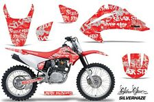 Honda CRF 150/230F Graphic Kit AMR Racing Decal Sticker Part 03-07 SILVERHAZE W