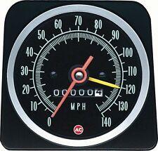 69 Camaro COPO 140 MPH Speedometer with Speed Warning