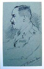 SMALL PORTRAITS WWII MAJOR I TAYLOR RAOC  ROBERT LYON EXHB 1935-40