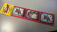 1987 Donruss Baseball Blister Pack - 75 cards, 18 puzzle pieces