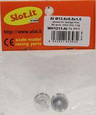 Slot It Siwh1211Al 3/32 Aluminum Wheels For Sponge Tires New 1/32 Slot Car Part