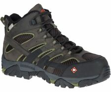 Merrell Men's J45311 Moab 2 Vent Mid Composite Toe Waterproof Safety Work Boots