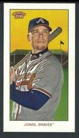 2020 Topps 206 Series 2 #4 Chipper Jones, Atlanta Braves