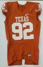 Nike Game Worn Authentic Texas Longhorns UT Football Jersey Orange Home #92
